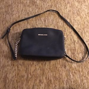 Black Michael Kors crossbody purse
